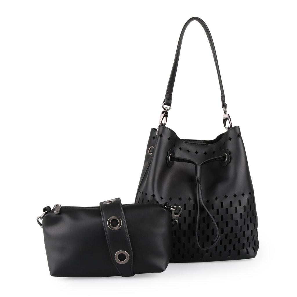 Bessie London Dámská kabelka přes rameno 2v1 BW3243 - černá fd4cacc7b70