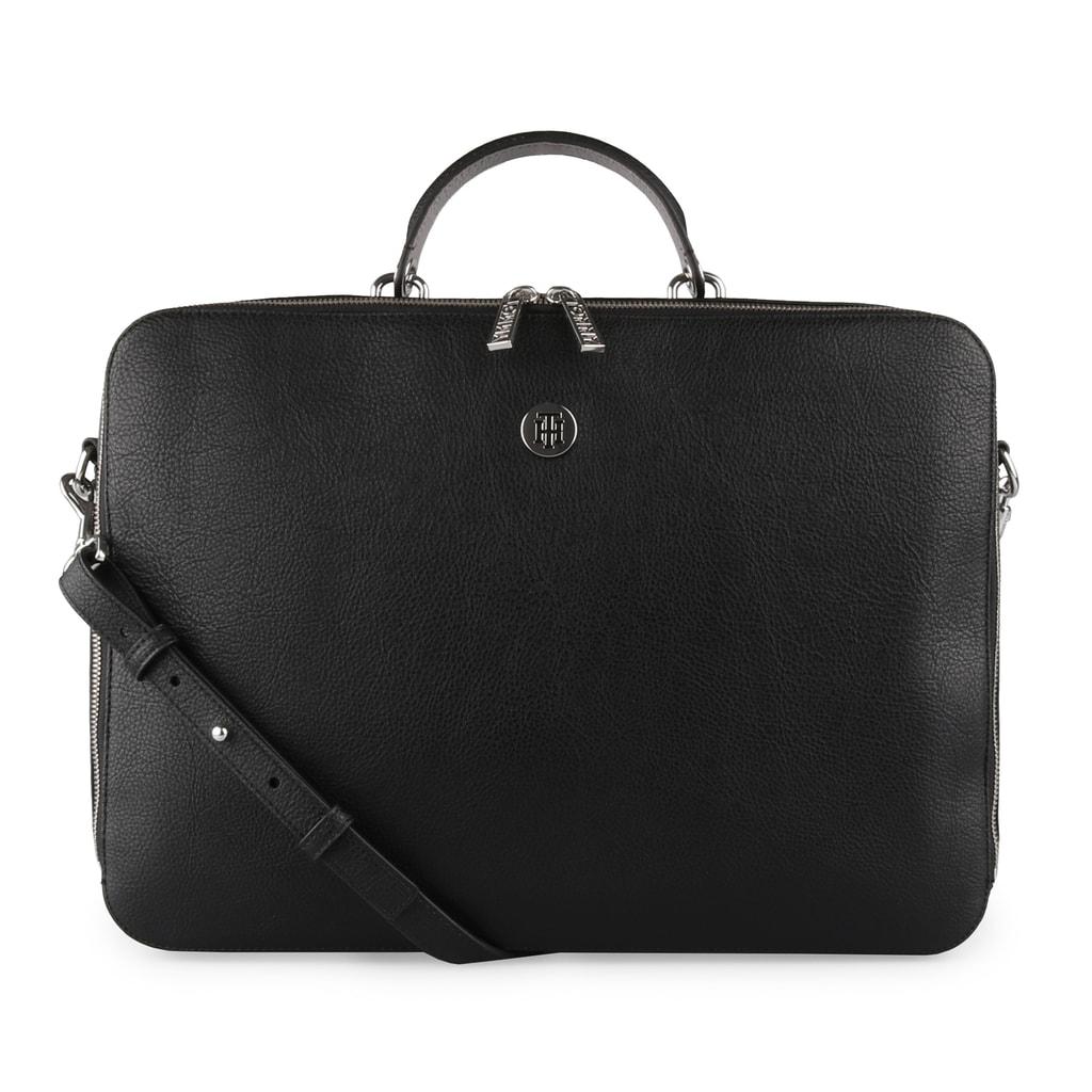 Tommy Hilfiger Dámská taška na notebook TH Core AW0AW05826 - černá