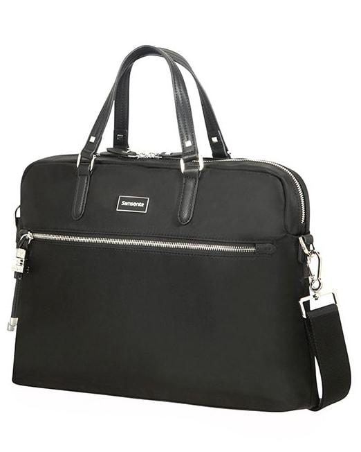 """Samsonite Dámská taška na notebook Bailhandle Karissa Biz 15.6"""" - černá"""