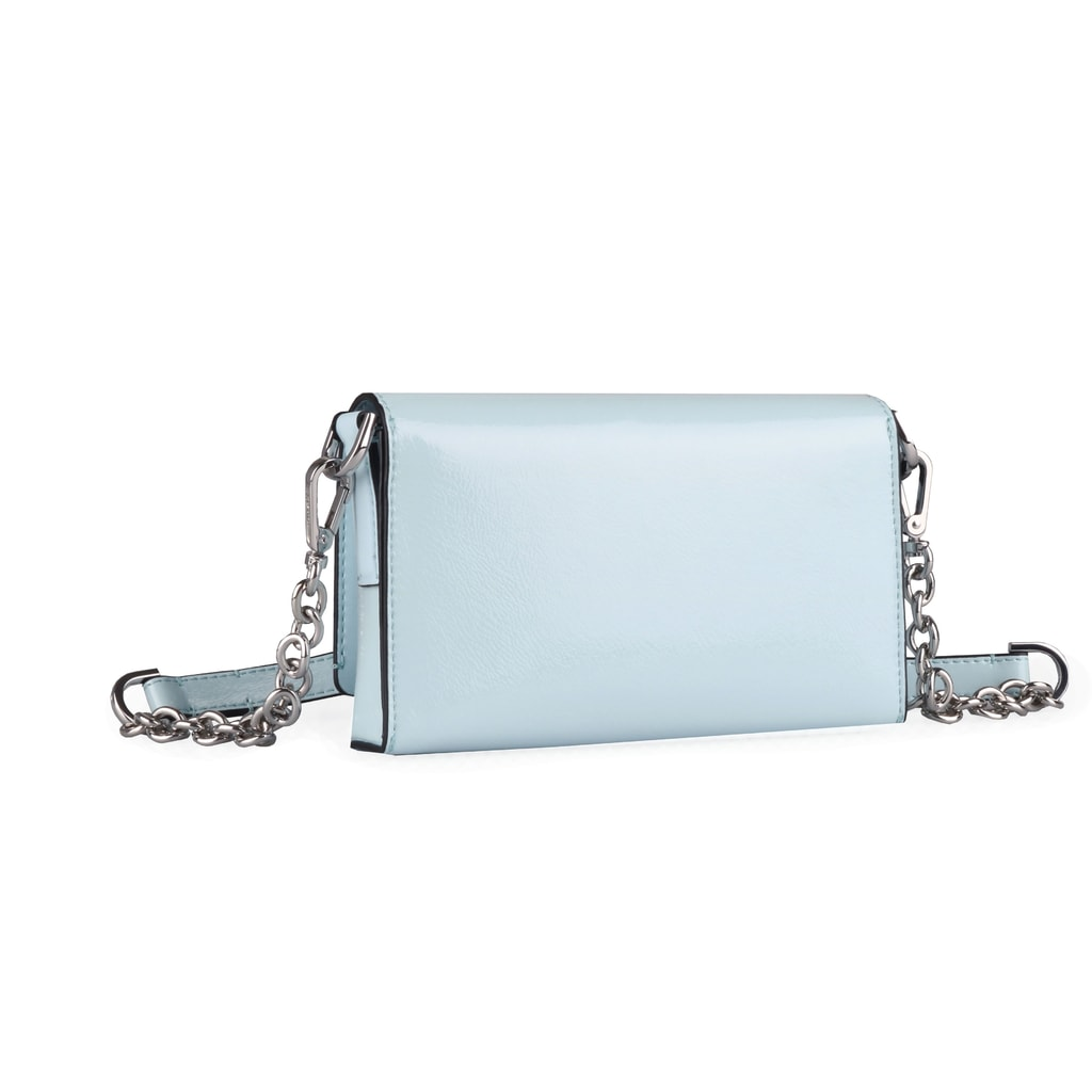 Súčasťou dámskej kabelky je odnímateľný popruh s dĺžkou 126 cm. Po jeho  odopnutí možno nosiť kabelku aj ako listovú kabelku. 857768b7fa2