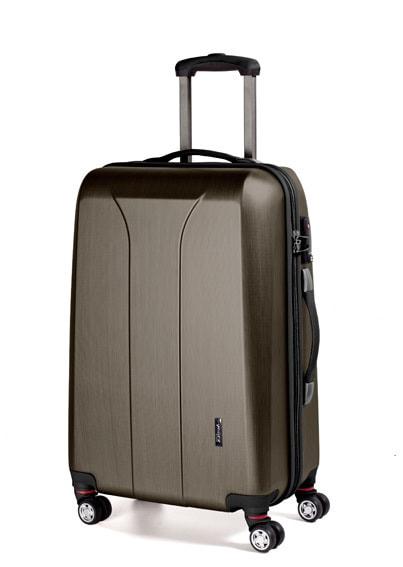 March Střední cestovní kufr New carat 76 l - bronzová