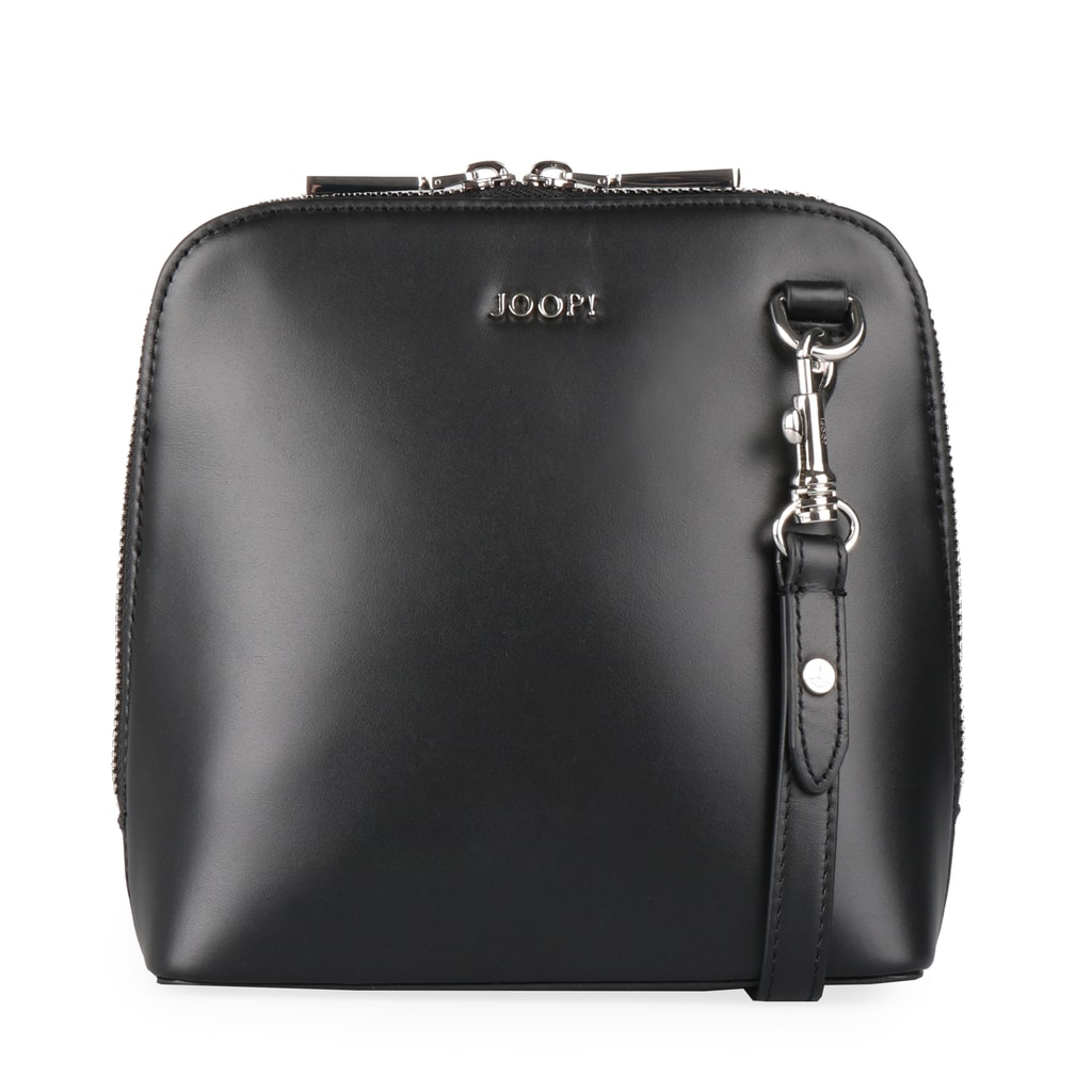 JOOP! Dámská kožená crossbody kabelka Nausica Livia 4140004375 - černá