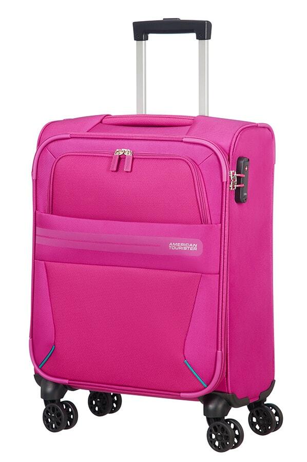 American Tourister Kabinový cestovní kufr Summer Voyager Spinner 29G 36 l - růžová