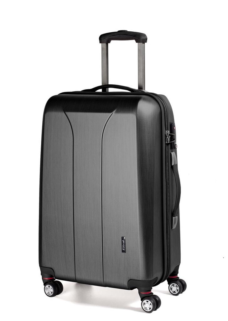 March Kabinový cestovní kufr New Carat 34,5 l - černá