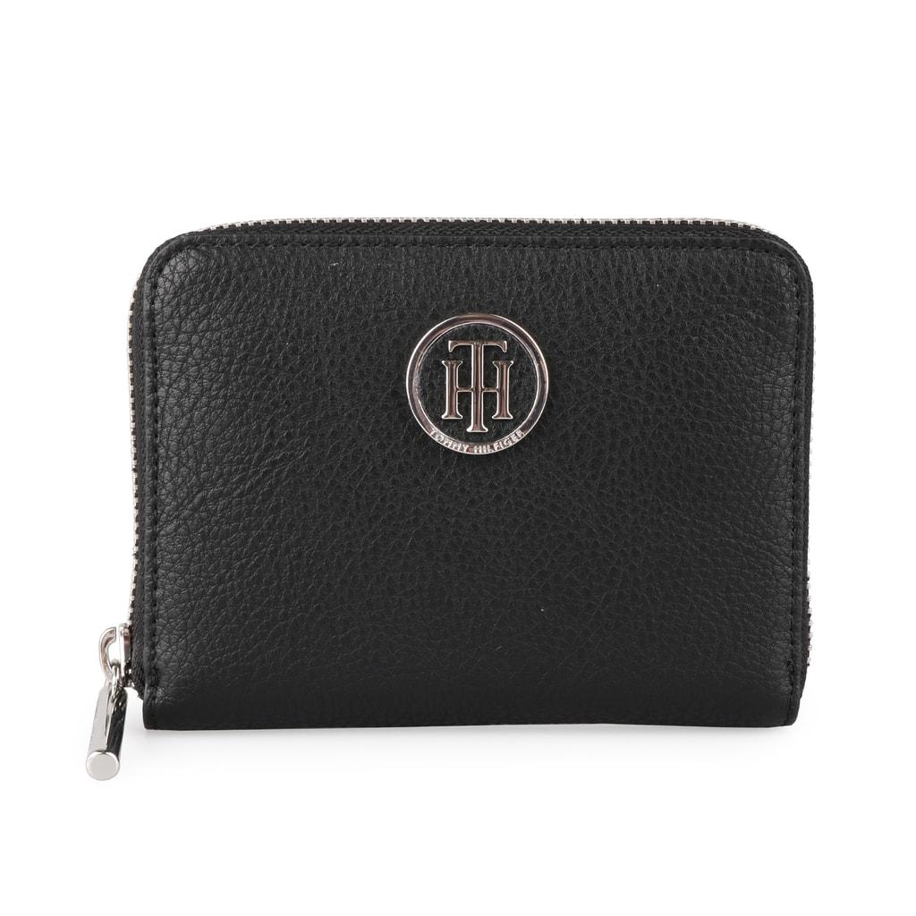 Tommy Hilfiger Dámská peněženka core compact aw0aw05190 - černá