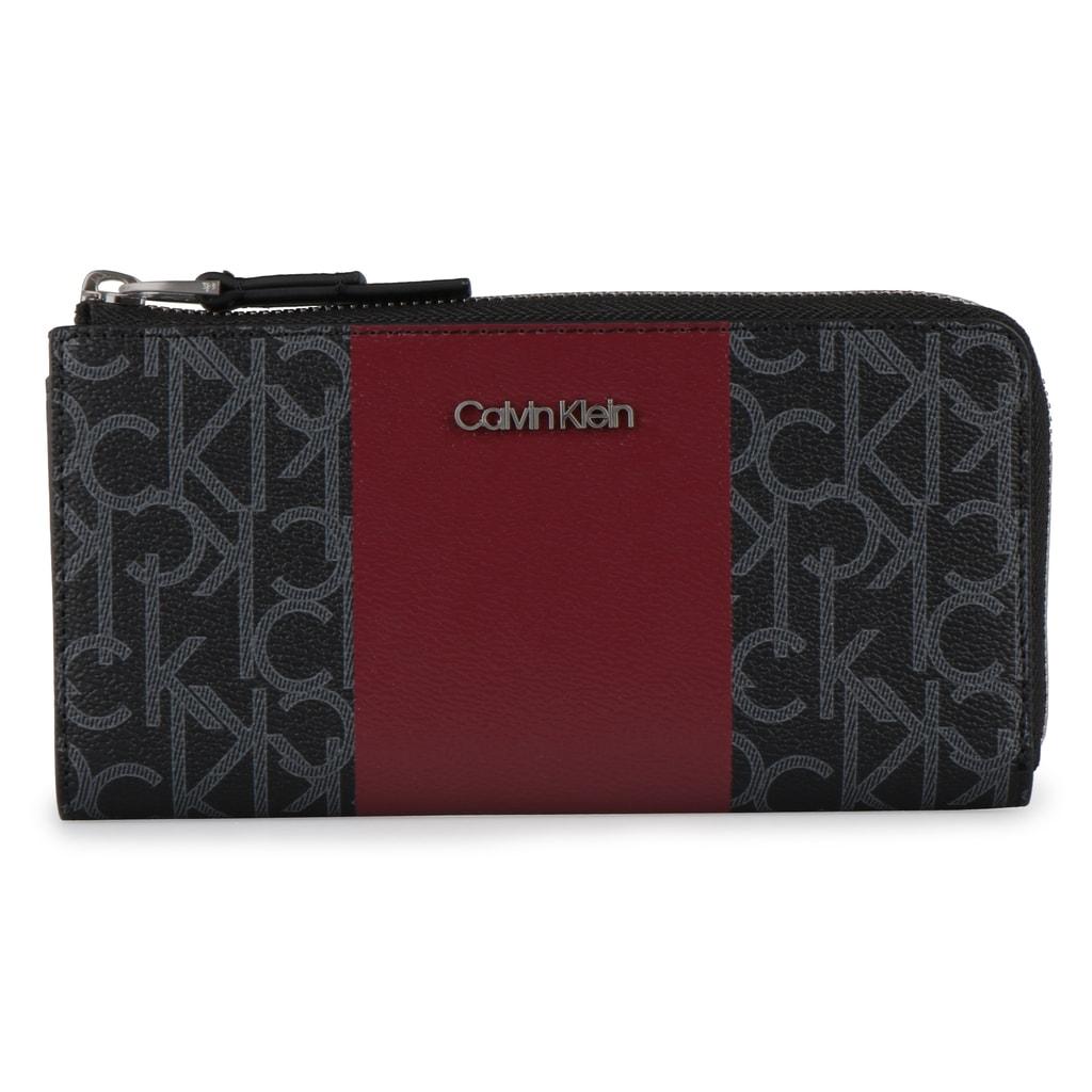Calvin Klein Dámská peněženka Mono Block Large K60K604693 - vínová