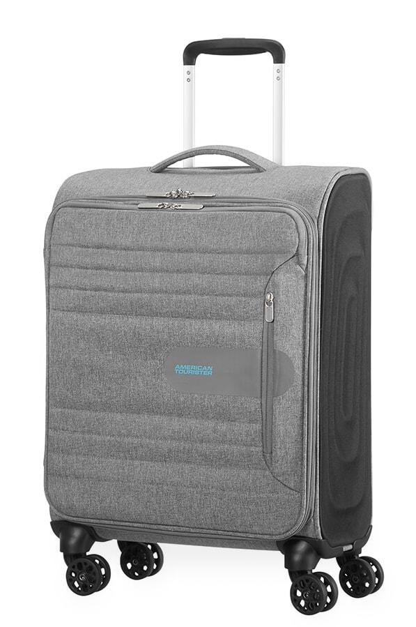 American Tourister Kabinový cestovní kufr Sonicsurfer Spinner 46G 40 l - světle šedá