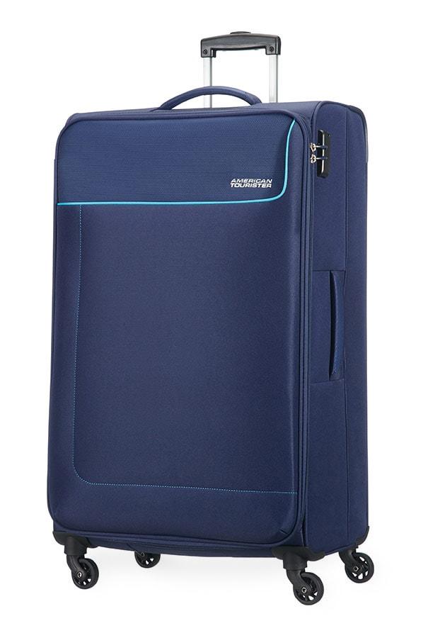 American Tourister Cestovní kufr Funshine Spinner 20G 99,5 l - tmavě modrá