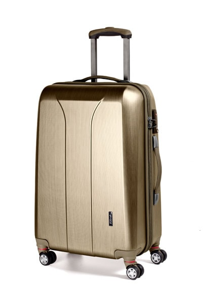 March Střední cestovní kufr New carat 76 l - zlatá