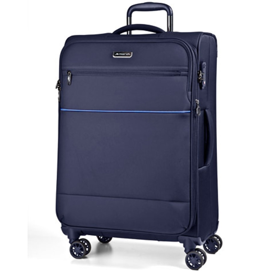 March Velký cestovní kufr Easy 104 l - tmavě modrá