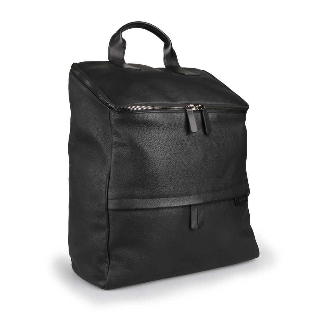 d9cd66d13de Pánský kožený batoh Garett 4010001697-900 černá - Strellson ...
