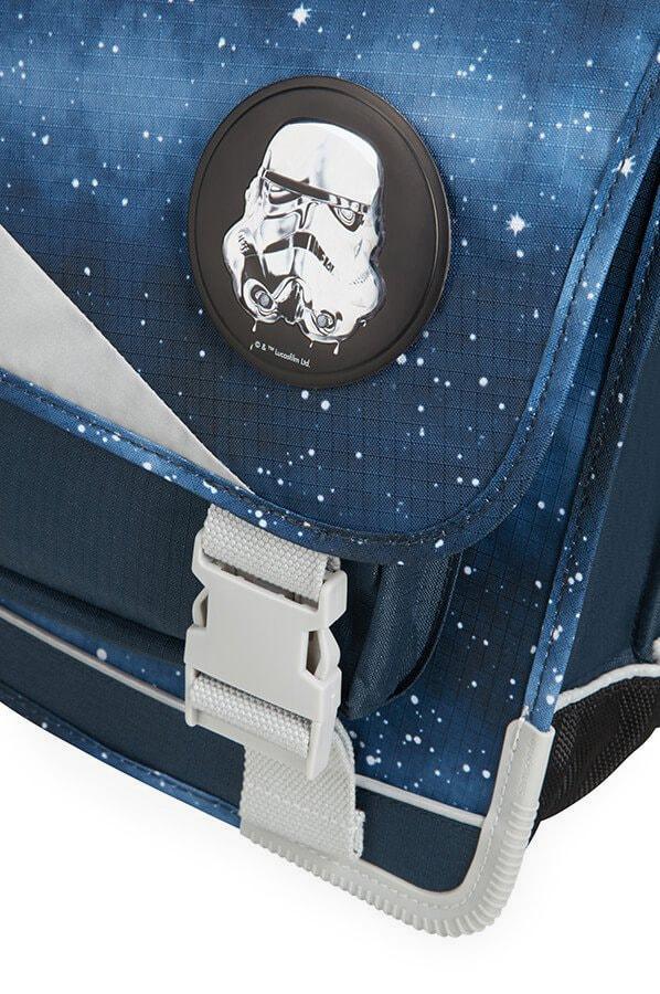 Děti si tašky můžou přizpůsobit díky vyměnitelným odznakům na přední části.  SAMSONITE d31c2d8260