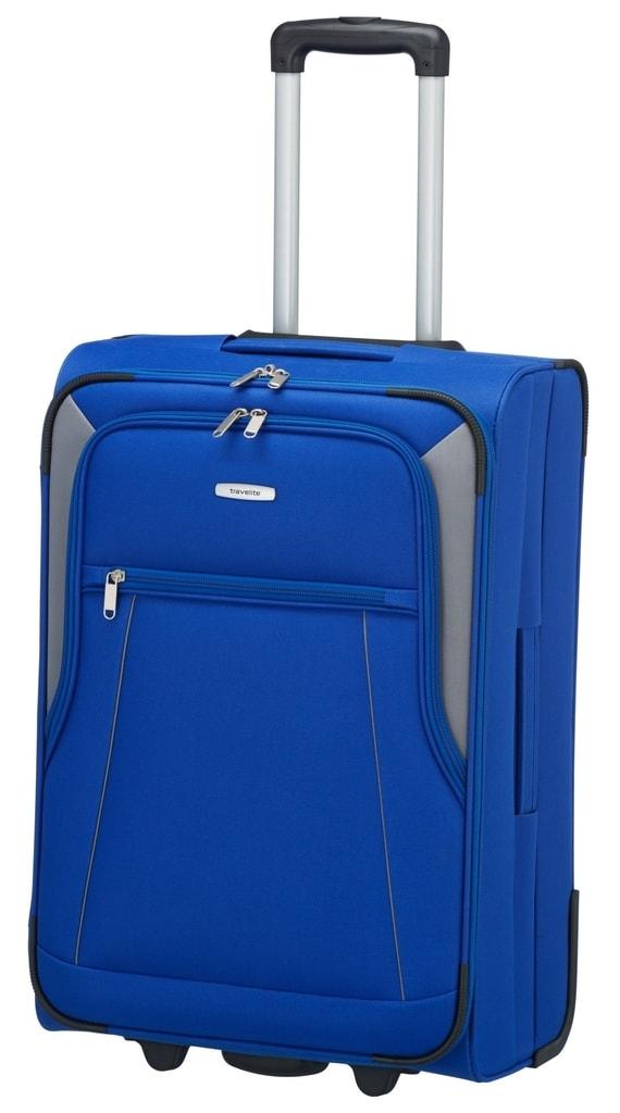 Travelite Cestovní kufr Portofino 62 l P38395 modrá