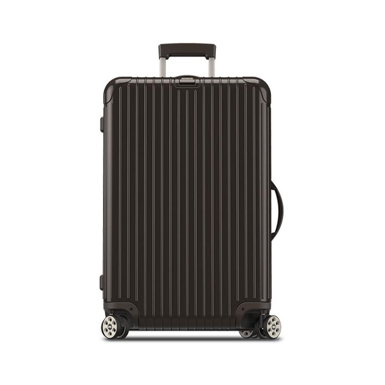 Rimowa Velký cestovní kufr Salsa Deluxe 78 l, E-Tag hnědá