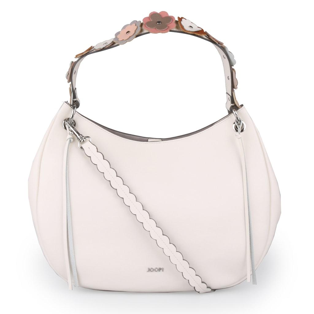JOOP! Dámská kožená kabelka Lina Hobo Large Pure Limited 4140003901-101 - bílá