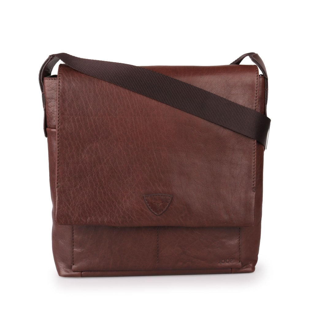 Pánská kožená taška přes rameno Brenta Belos 4140003467-702 hnědá ... 86f2776af80