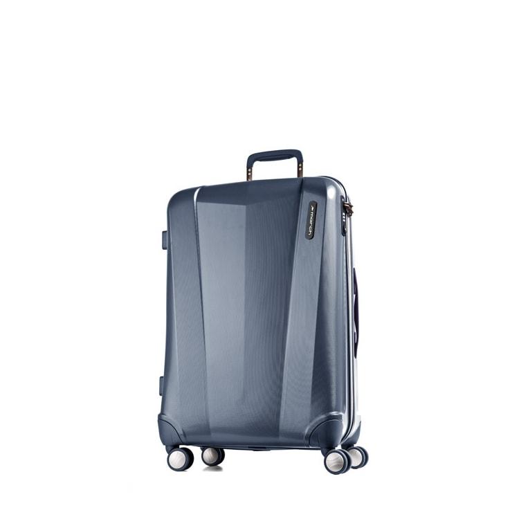 March Střední cestovní kufr Vision 71 l - modrá
