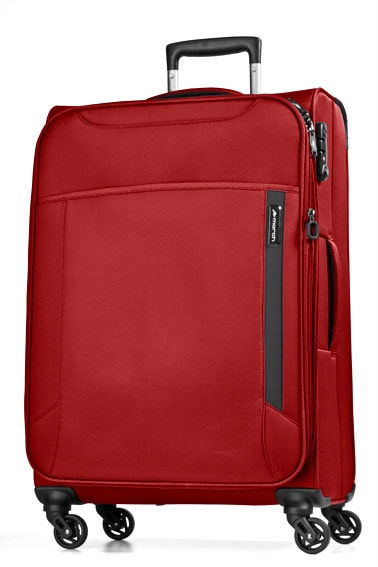 March Velký cestovní kufr Cloud 104 l - červená