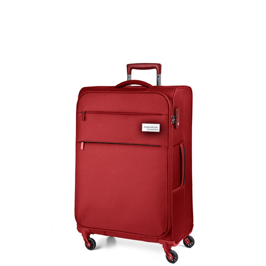March Kabinový cestovní kufr Polo 39,0l - červená