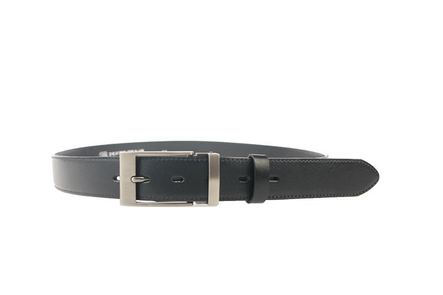 Penny Belts Kožený opasek 35/020/19-černý