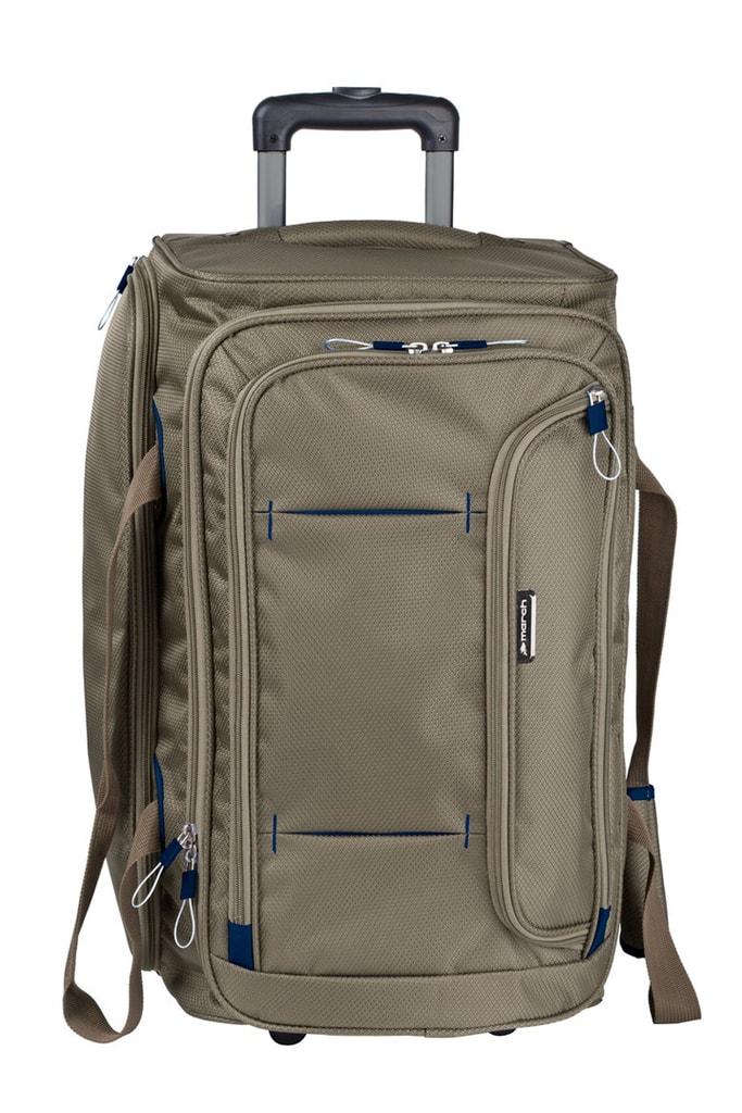 March Cestovní taška Gogobag 73 l - hnědá