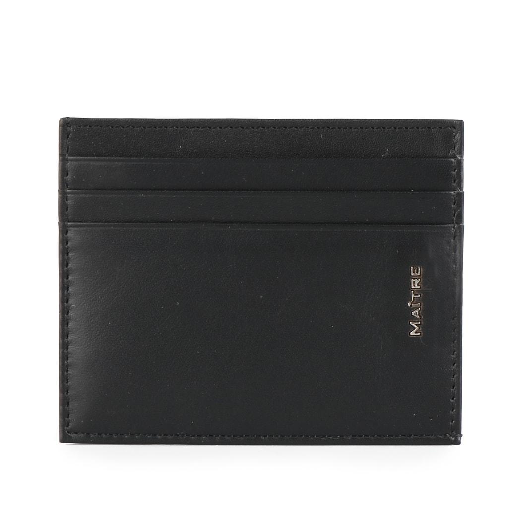 Maitre Kožené pouzdro na karty Conrad 4060001454 - černá