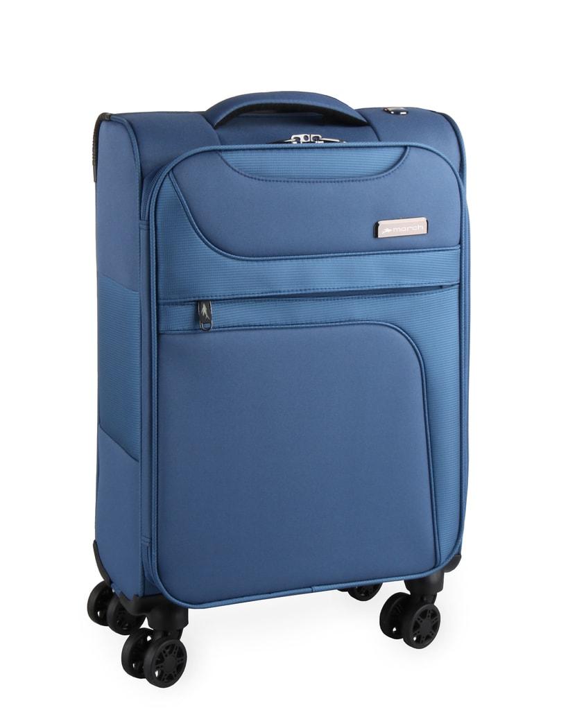 March Kabinový cestovní kufr Focus 34,5 l - světle modrá