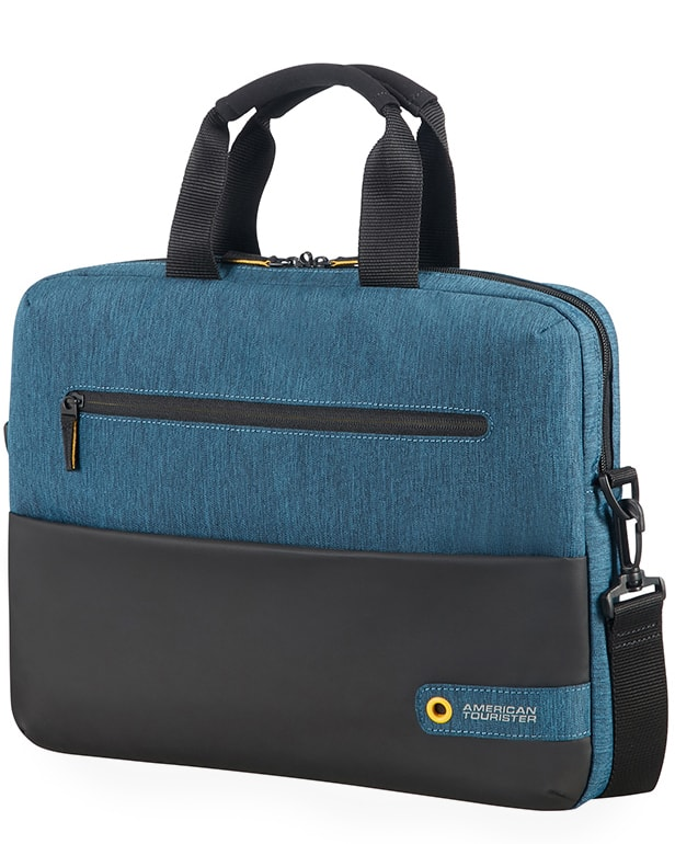 "American Tourister Taška na notebook City Drift 28G 10 l 13.3""-14.1"" - modrá"