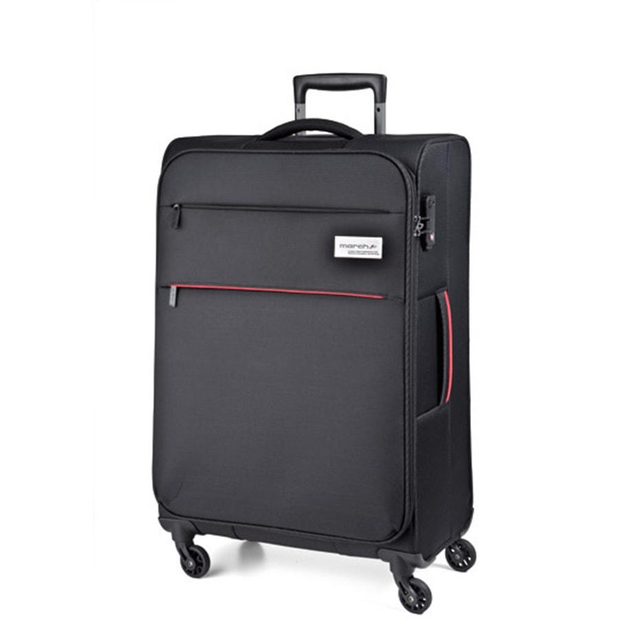 March Střední cestovní kufr Polo 79,0l - černá