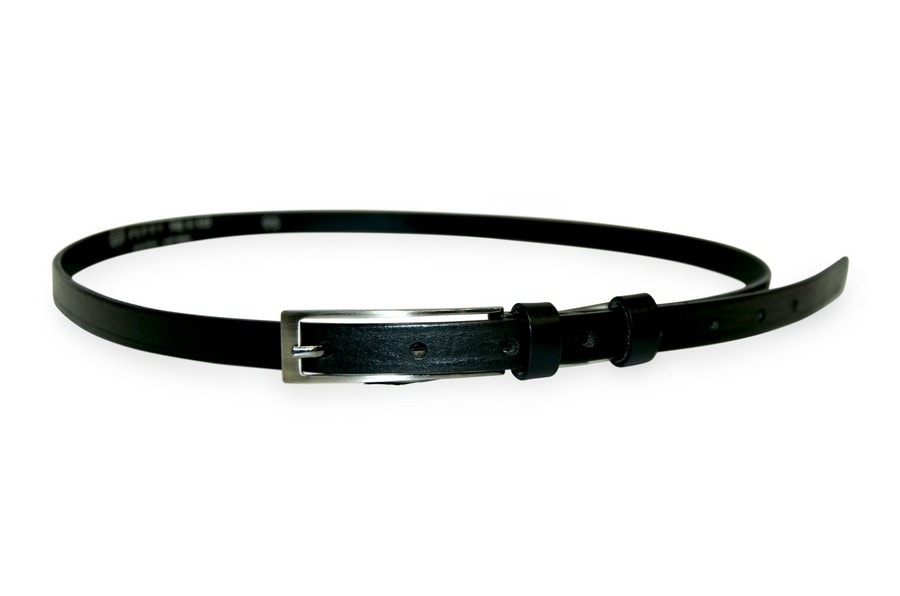 Penny Belts Dámský kožený opasek Penny Belts 15-1, černý
