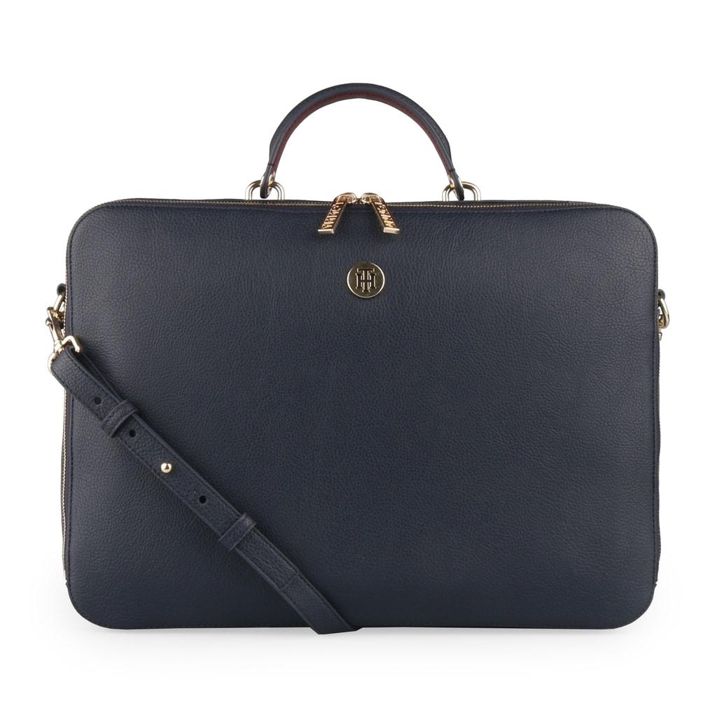 Tommy Hilfiger Dámská taška na notebook TH Core AW0AW05826 - tmavě modrá