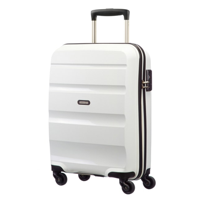 American Tourister Kabinový cestovní kufr Bon Air Spinner 85A 31,5 l - bílá