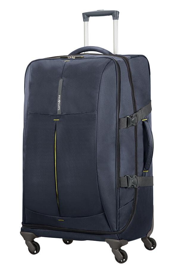 Samsonite Cestovní kufr 4Mation 99 l - modrá
