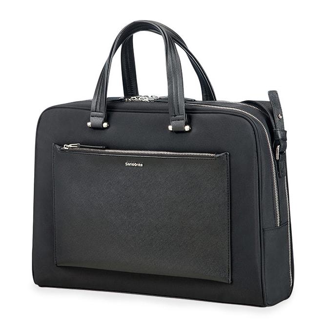 """Samsonite Dámská taška na notebook Zalia 85D-005 15.6"""" - černá 85D*005-09"""
