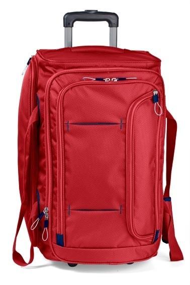 March Střední cestovní taška Gogobag 73 l - červená