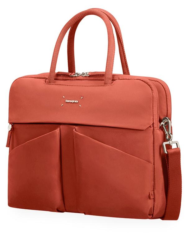 "Samsonite Dámská taška na notebook Lady Tech 43N 14.1"" - oranžová"