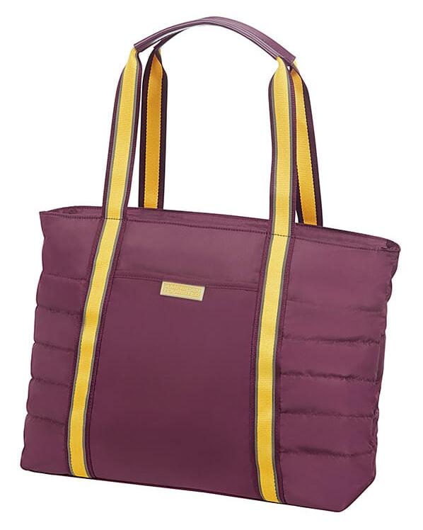 American Tourister Cestovní taška Uptown Vibes 64G 15,5 l 14.1'' - fialová