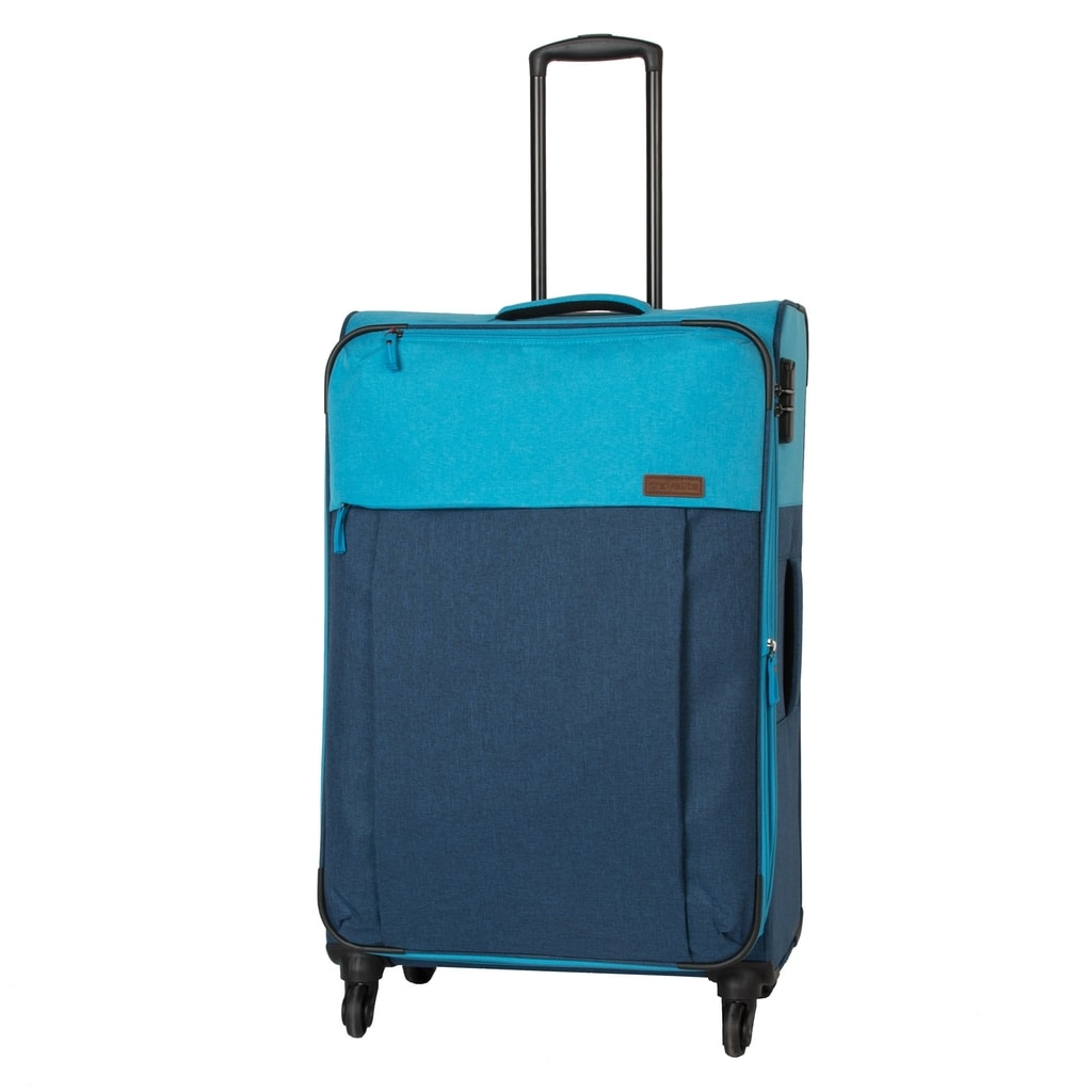 Travelite Velký cestovní kufr Neopak 92/105 l P38376 modrá