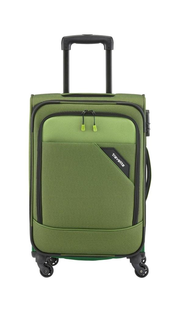 Travelite Kabinový kufr Travelite Derby 4w S Green
