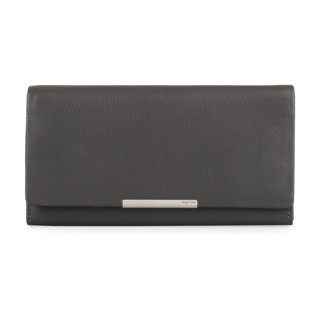Maitre Dámská kožená peněženka Belg 4060001414 - tmavě šedá