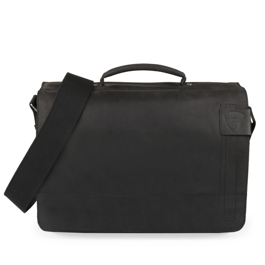 Strellson Pánská kožená taška přes rameno Richmond 4010001261