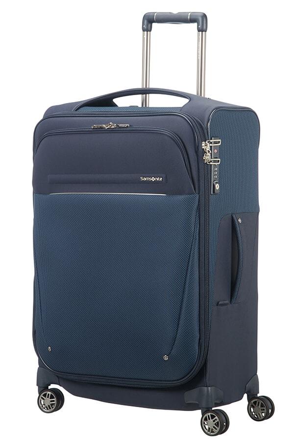 Samsonite Cestovní kufr B-Lite Icon 55/62 l - tmavě modrá