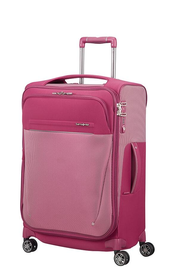 Samsonite Cestovní kufr B-Lite Icon 55/62 l - růžová