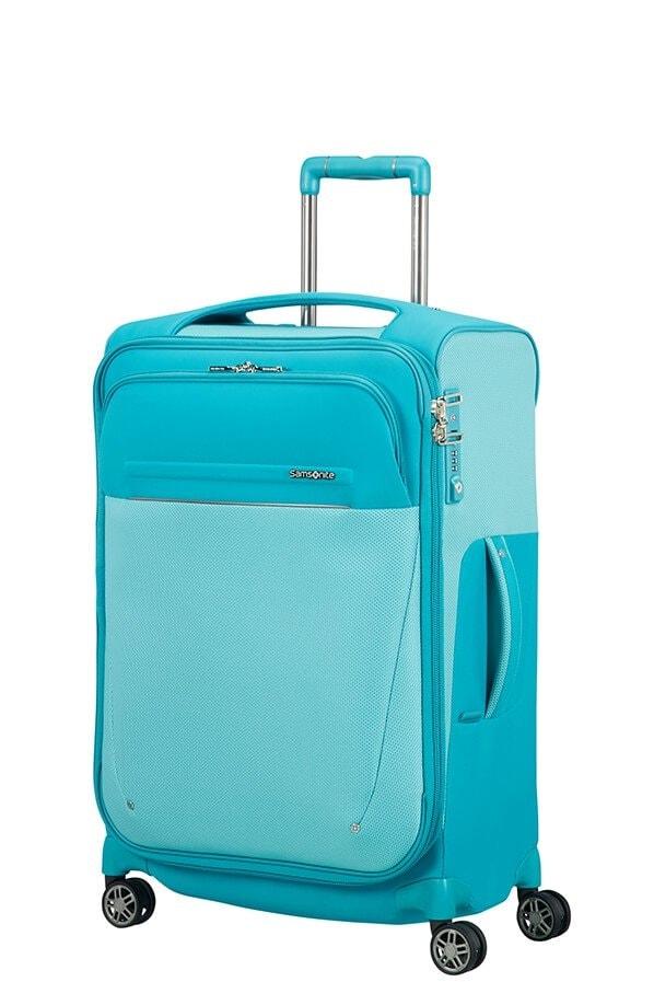 Samsonite Cestovní kufr B-Lite Icon 55/62 l - světle modrá