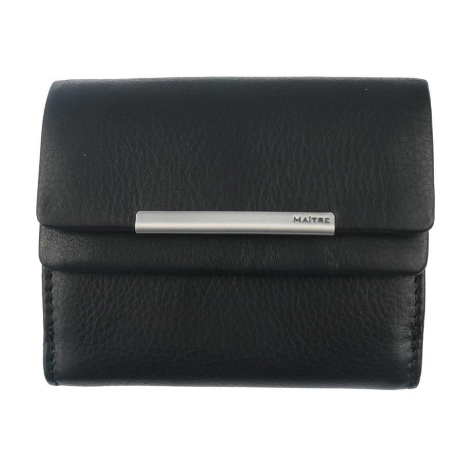 Maitre Dámská kožená peněženka 1417, černá