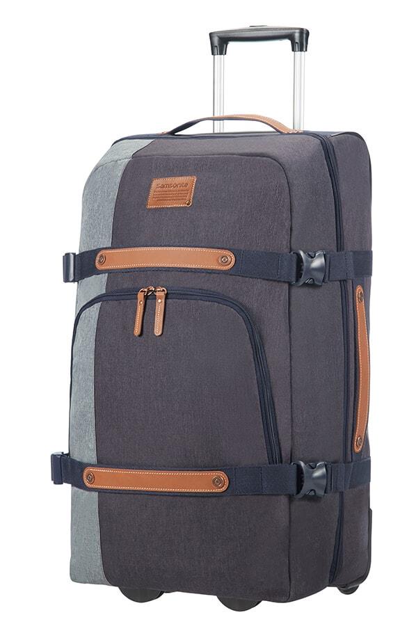 Samsonite Cestovní taška na kolečkách Rewind Natural 72,5 l - modrá