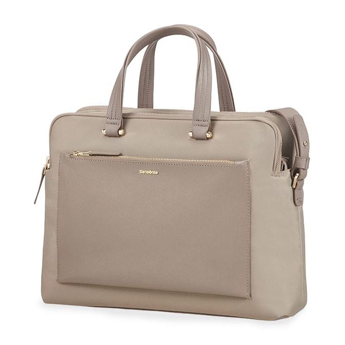 "Samsonite Dámská taška na notebook Zalia 85D-004 14.1"" - béžová 85D*004-22"