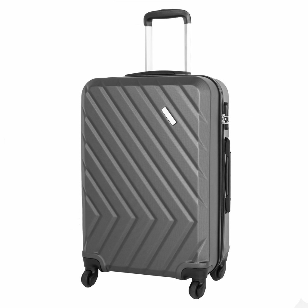 Travelite Cestovní kufr Quick 4w M Anthracite 64 l