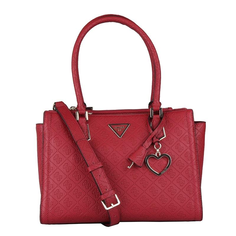 GUESS Dámská kabelka do ruky Lyra HWSG7100090 - červená a7e40e5e859