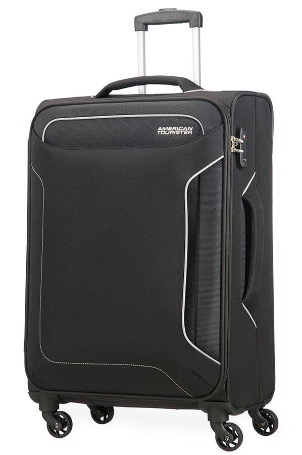 American Tourister Cestovní kufr Holiday Heat Spinner 50G 66 l - černá